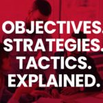 Objectives, Strategies, Tactics, Explained